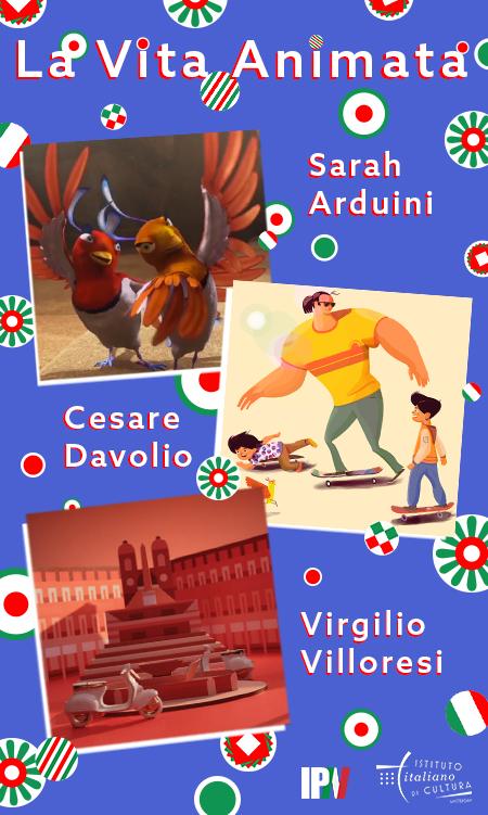 La Vita Animata Het Leven Als Een Animatie Italian